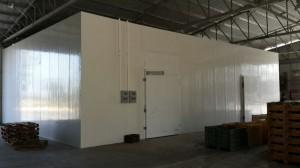 בניית חדר קירור