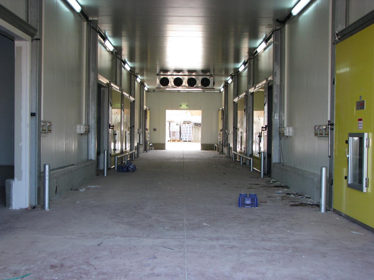 חדרי קירור תעשייתיים